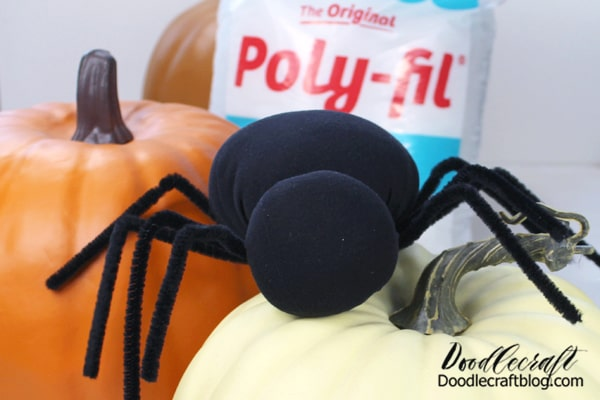 Let's make another Spider with a little more time and experience under my belt. This cute spider is part of Poly-Fil and Fairfield World's 80th anniversary! If you've stuffed something, chances are pretty good that it was Poly-Fil!  #fairfield80 #polyfil #poly-fil #FFWcelebration
