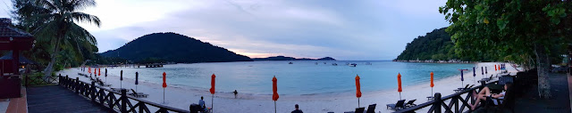 Hyeon Travel Journal; Pulau Perhentian Resort; Panorama