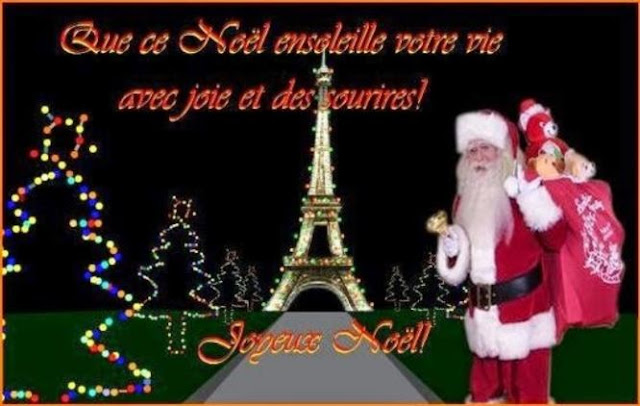 Merry Christmas Wishes in French language