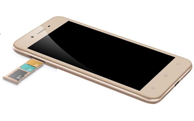 Dual 4G SIM + microSD Card Vivo Y53