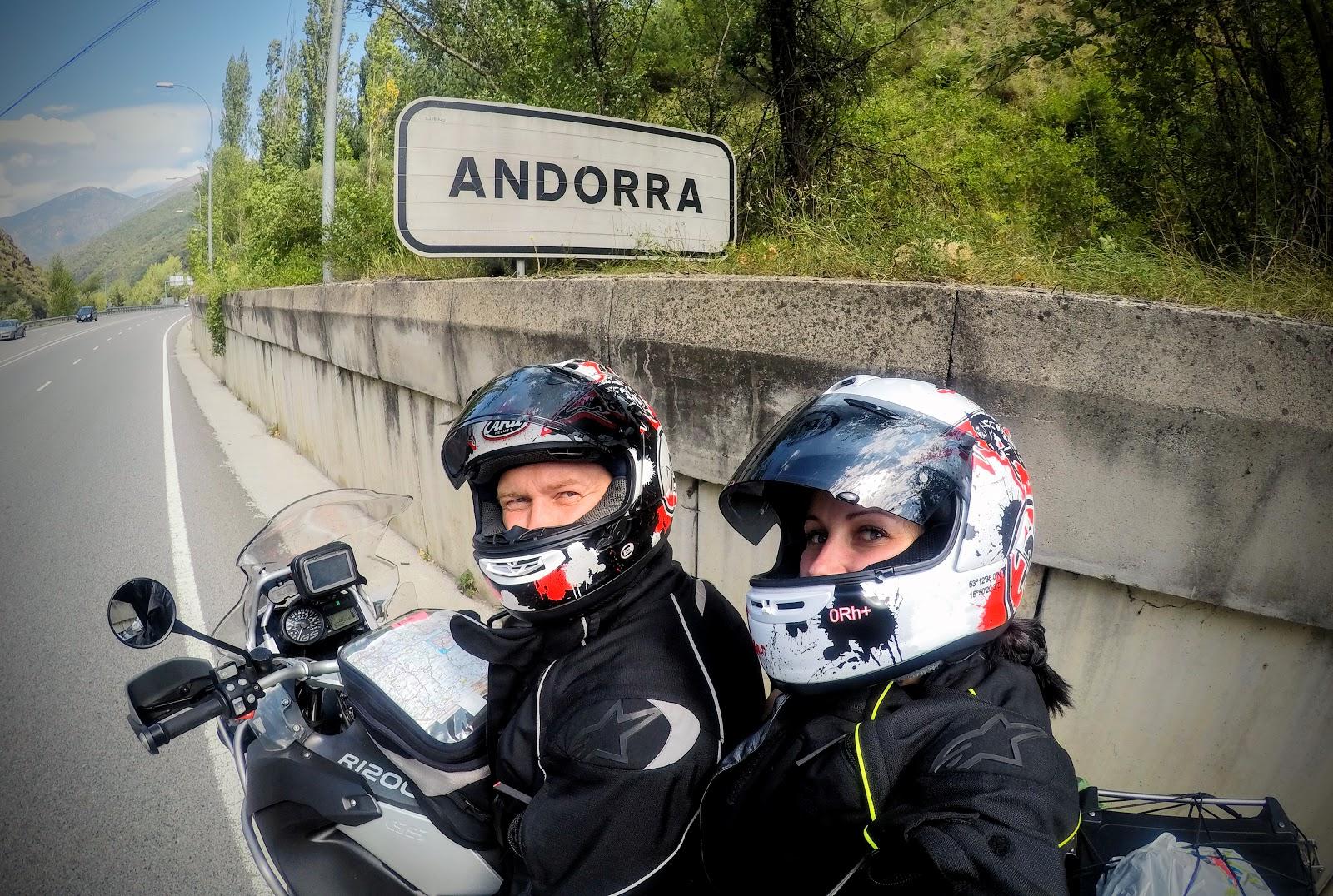 Moto Euro Trip 2017: z UK na Gibraltar - dzień 3, część 2 - Andora miasto - państwo