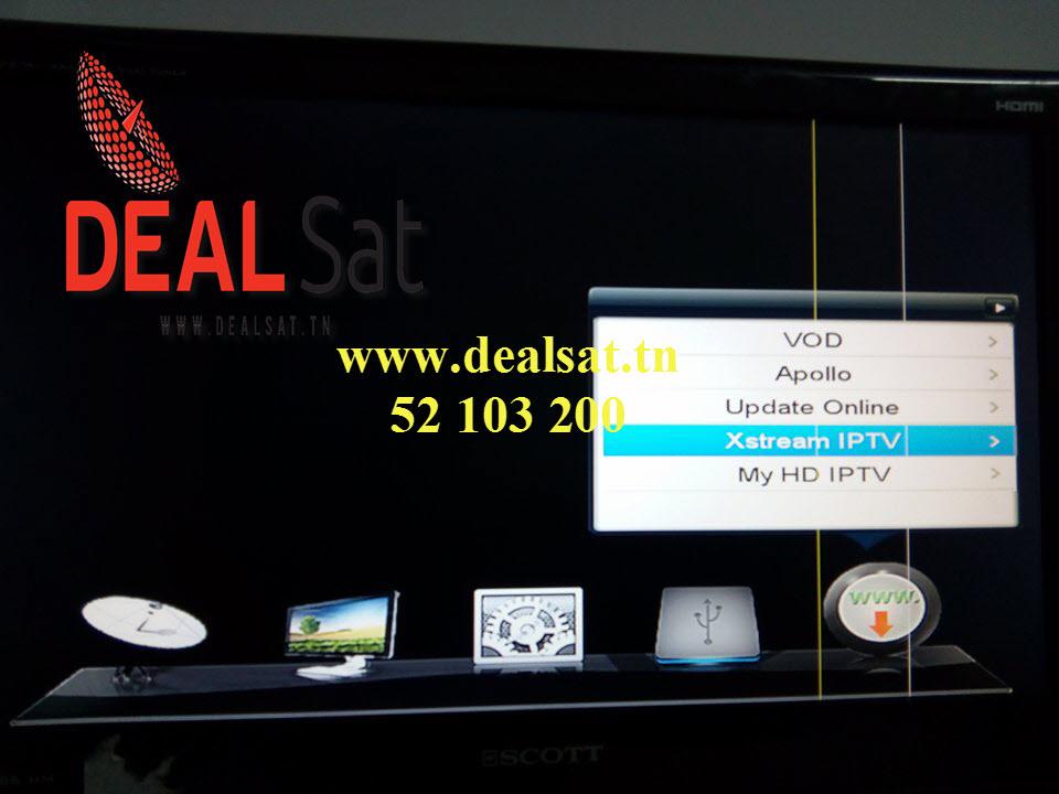 TUTO COMMENT INSTALLER DEAL TV IPTV SUR STARSTA 2090 NEW-VEGA-SUPER