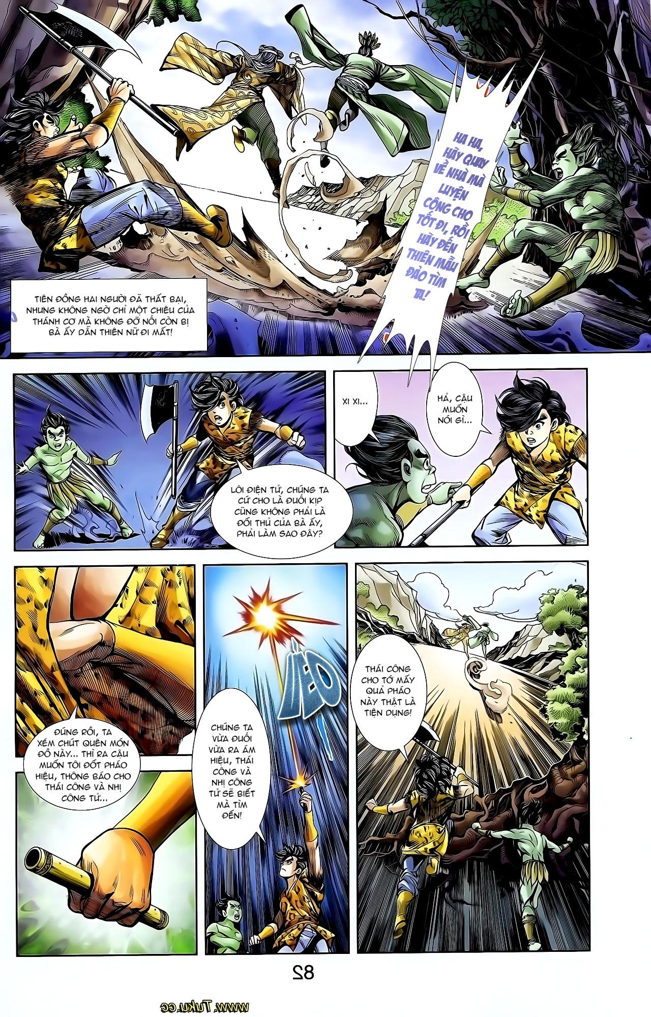 Cơ Phát Khai Chu Bản chapter 128 trang 13