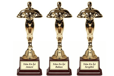 Kişiye Özel Oscar Ödül Hediyesi
