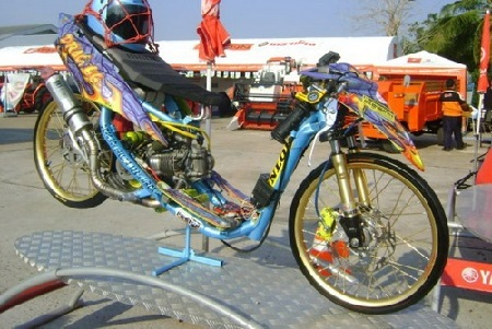 modifikasi motor drag