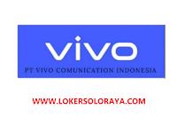 Lowongan Kerja SPG Area Solo Kota di PT Vivo Comunication Indonesia