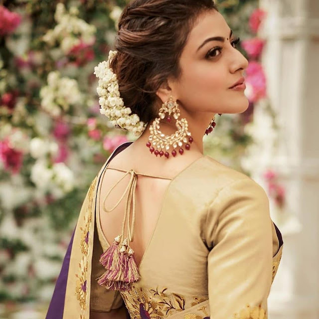 Kajal Aggarwal Jewelry ad