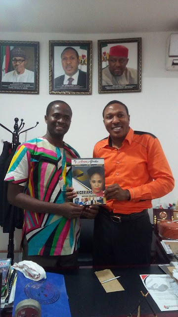 S.A to the Imo State Governor on Chaplaincy affairs endorses Arise Afrika Magazine unveiling.