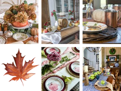 5 Gorgeous Fall Tablescape Ideas