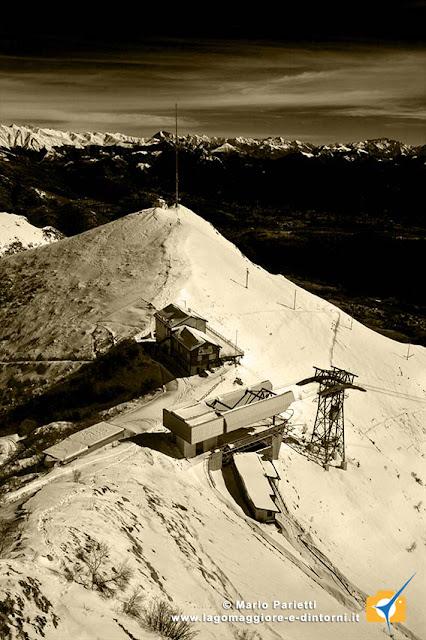 Vista dall'osservatorio astronomico