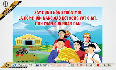 Cổ động tuyên truyền xây dựng Nông thôn mới