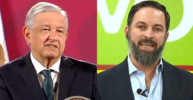 López Obrador y Santiago Abascal
