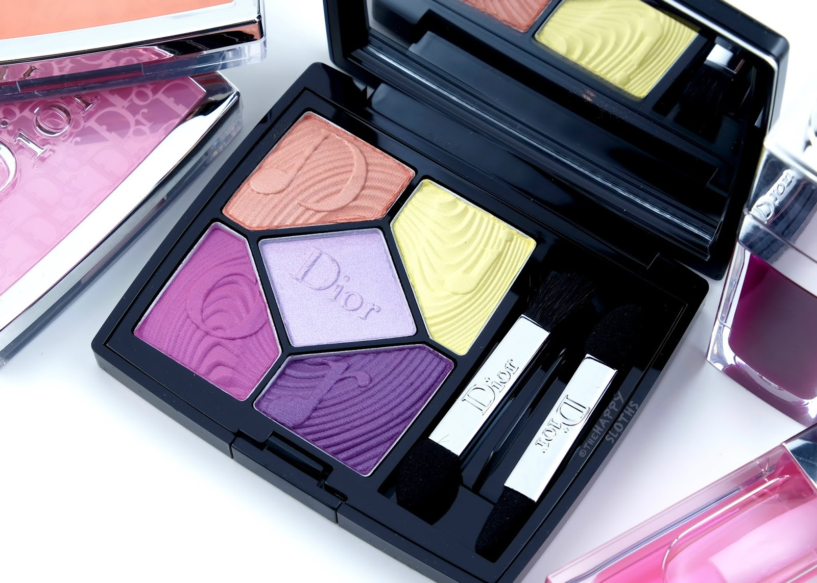 "Dior | Spring 2020 Glow Vibes Collection | 5 Couleurs Glow Vibes Eyeshadow Palette in ""167 Pink Vibration"": Review and Swatches"