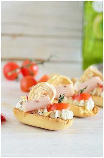 Bruschetta mozzarella receta tomate pomodoro