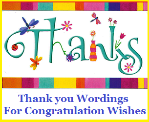 Reply to Wedding Congratulation Messages 5