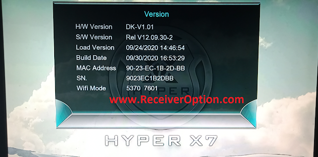 HYPER X7 1507G 1G 8M NEW SOFTWARE WITH DIRECT BISS KEY ADD OPTION