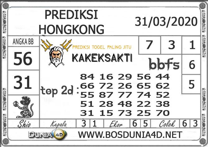 Prediksi Togel HONGKONG DUNIA4D 31 MARET 2020
