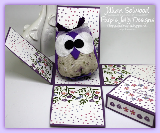 Blooms & Wishes stamp set, Sweet Sugarplum, Wisteria Wonder