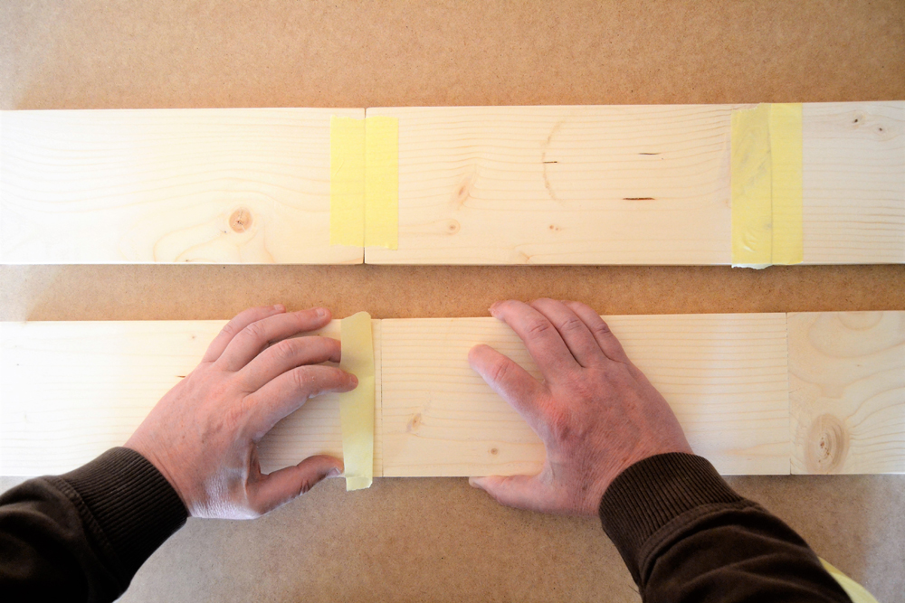 Diy tutorial, cómo hacer una estantería triángulo y otra en forma de hexágono, paso a paso