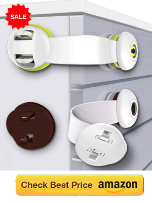 Child Safety Locks for Drawers Cabinet