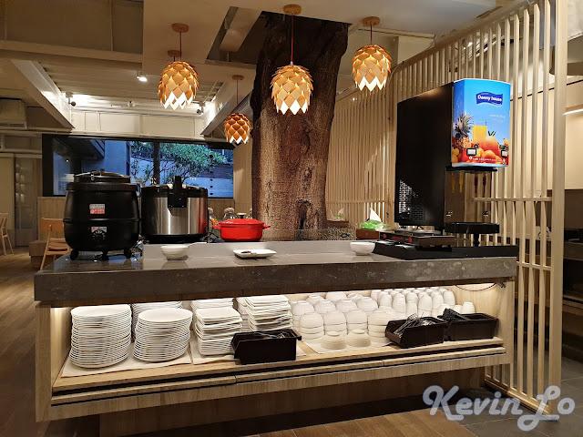 東旅湯宿溫泉飯店-風華漾館早餐採用自助式