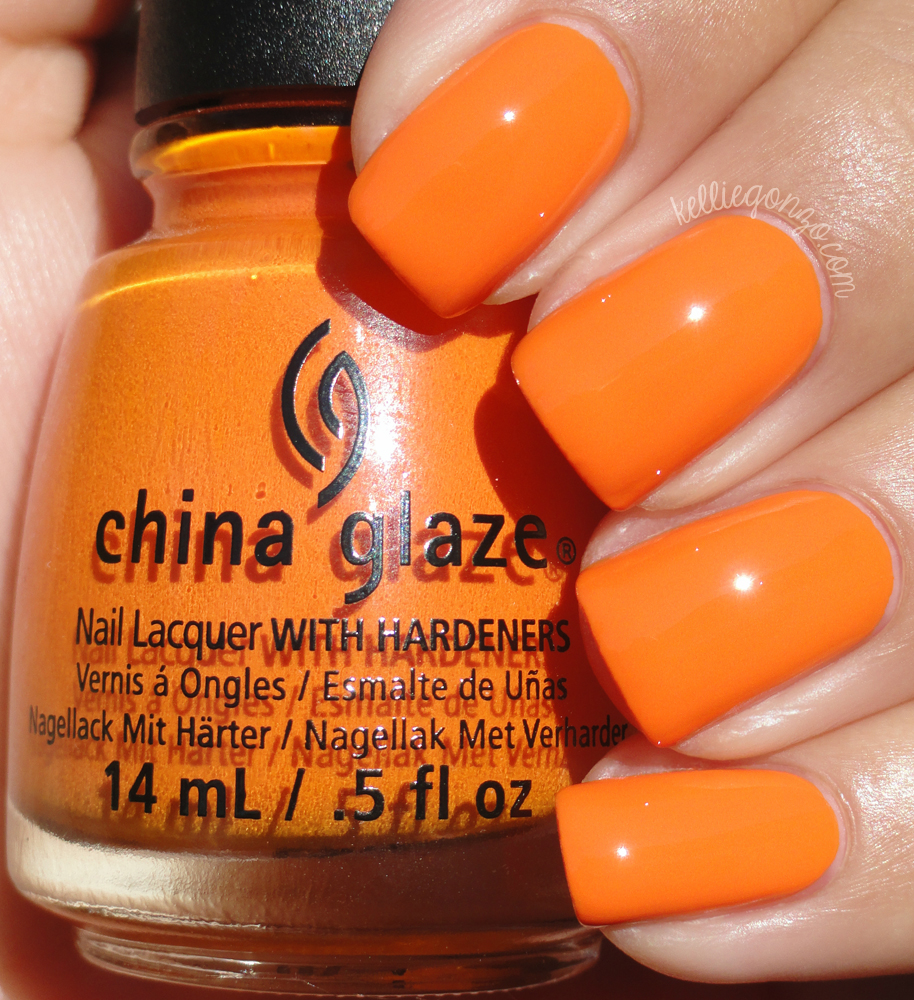 China Glaze - Stoked to Be Soaked // kelliegonzo.com