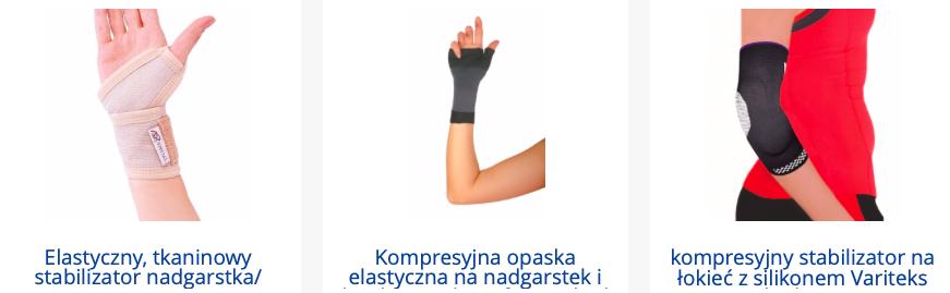 Orteza nadgarstka - stabilizator medyczny