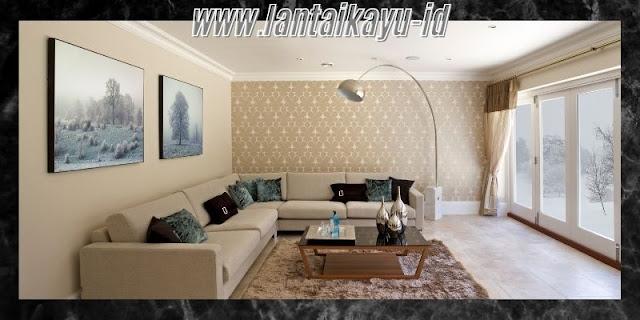 Dekorasi Ruang Tamu  Minimalis yang Mewah - gunakan cat dinding yang tepat