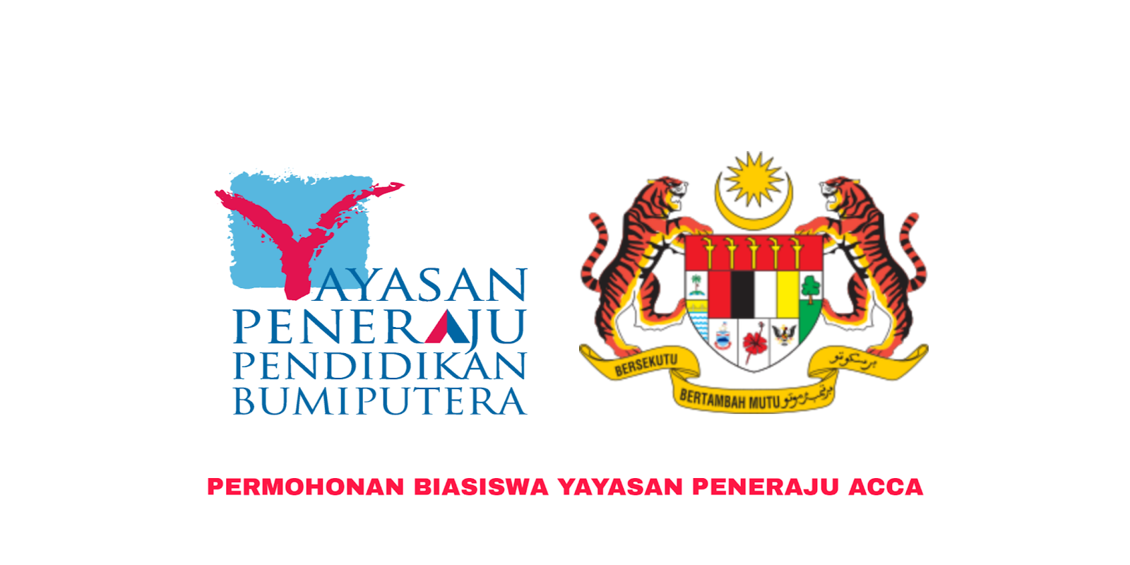 Permohonan Biasiswa Yayasan Peneraju Acca 2020 Online Semakan Upu
