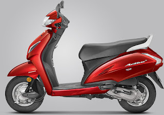 Honda Activa 5G Pearl Spartan Red Colour