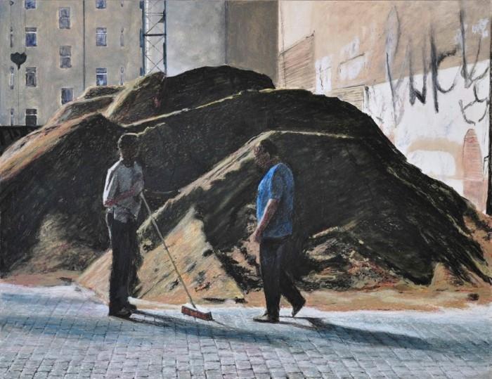 Французский художник. Paul Vergier