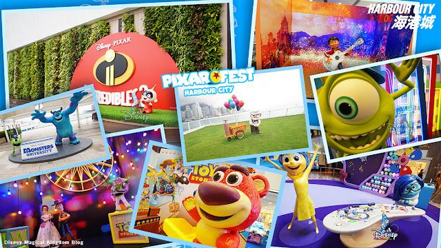 彼思動畫35周年-Pixar Fest-香港海港城-迪士尼與彼思電影經典拍照場景-Harbour-City