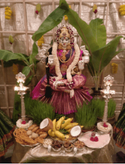 varalakshmi decoration ideas at home