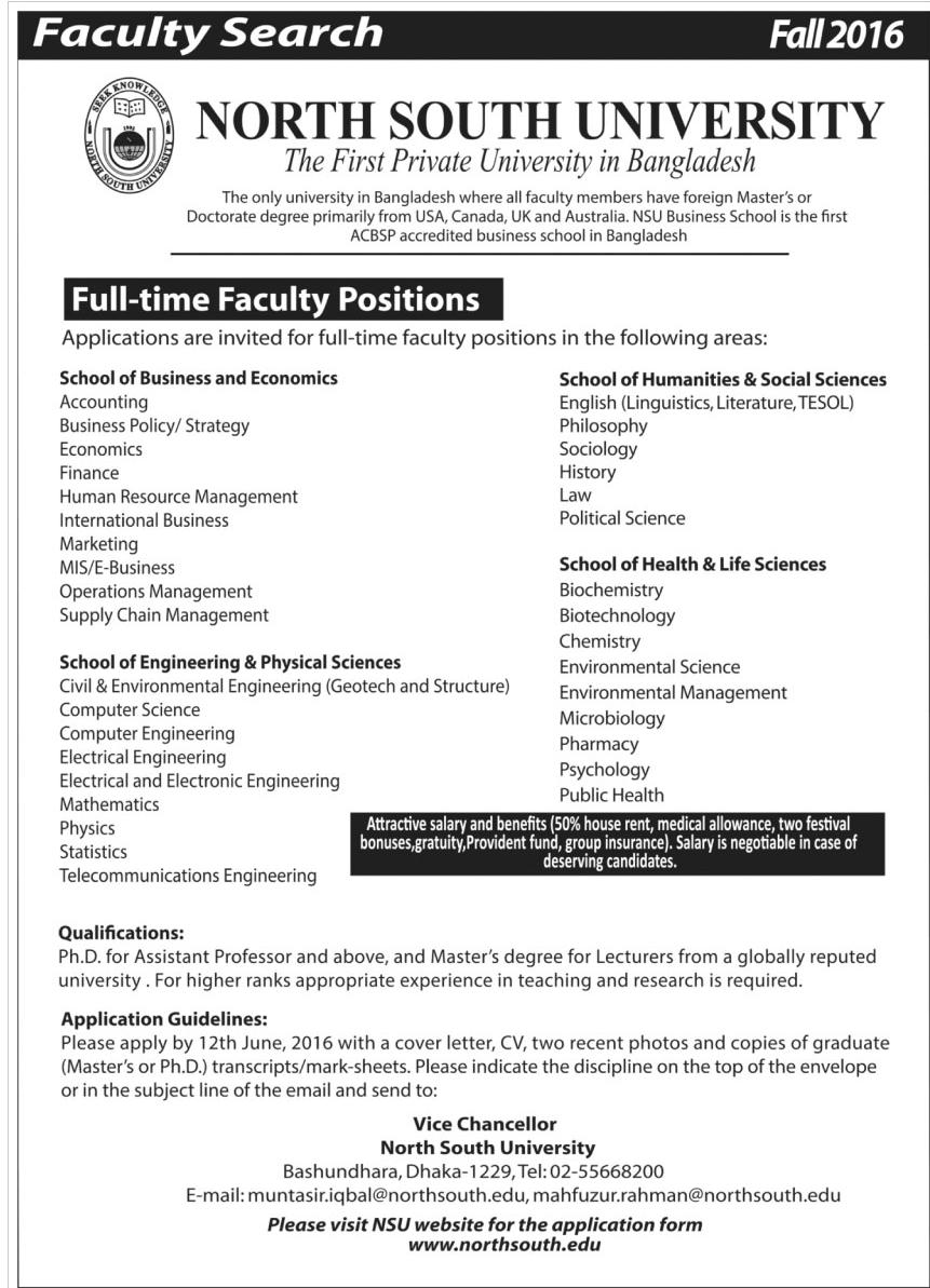 cover letter faculty position psychology