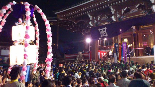 O-E-Shiki at Ikegami Honmonji Temple, Ohta, Tokyo
