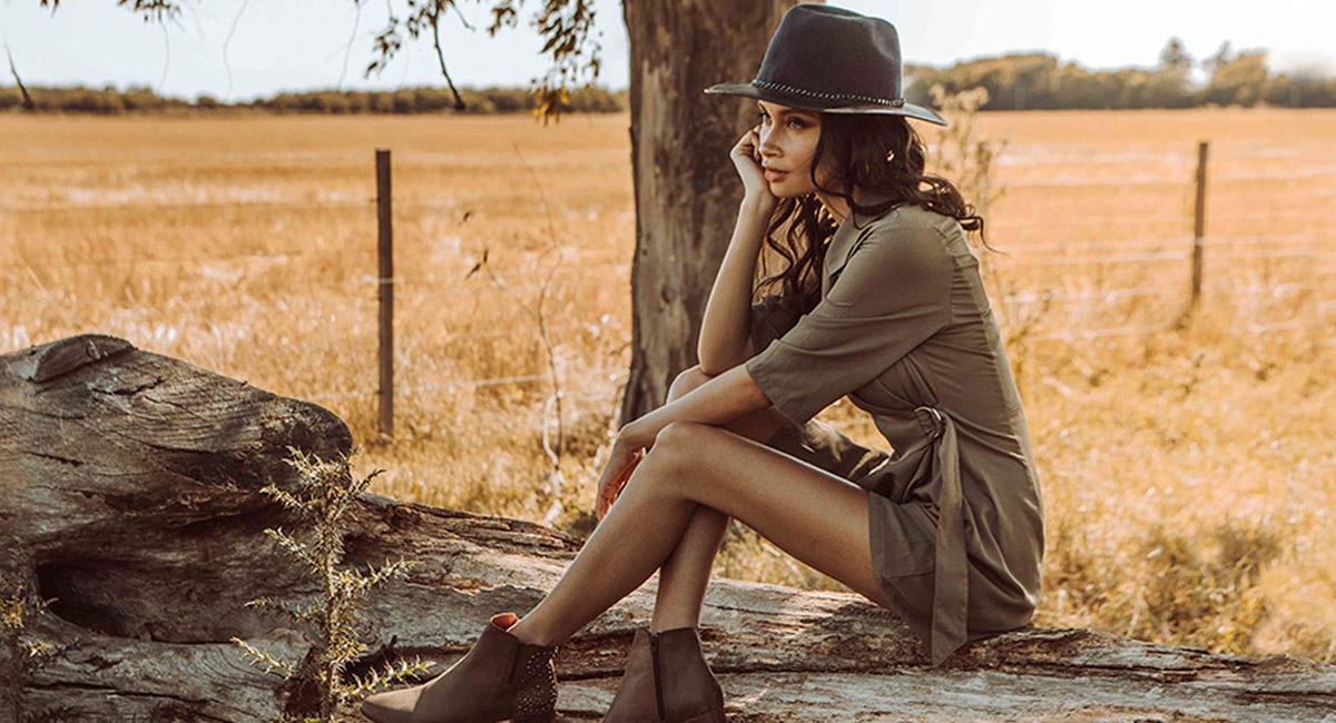 Moda otoño invierno 2020 ropa de mujer estilo boho urbano. Vestidos otoño invierno 2020.
