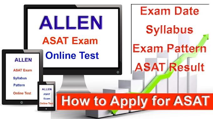 Allen scholarship Test (ASAT)