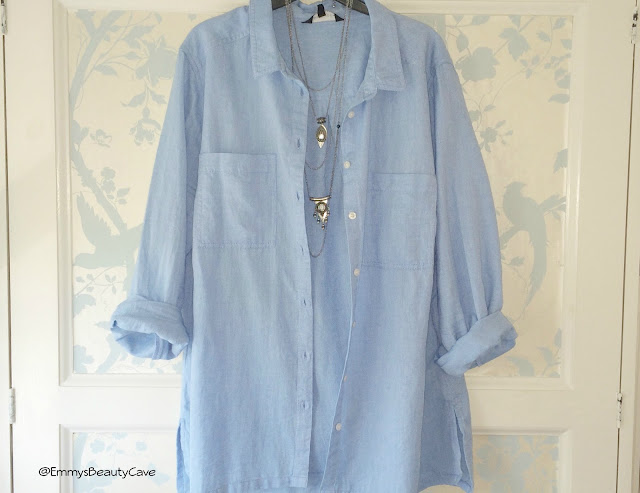 Blue Denim Oversized Shirt