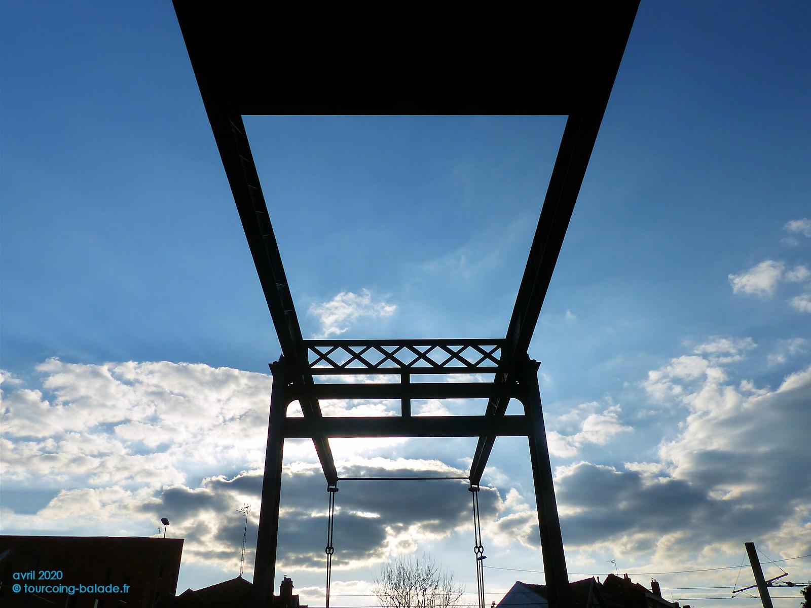 Contrepoids du Pont de l'Espierre, Tourcoing 2020