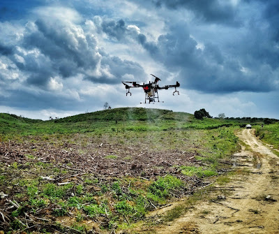 jasa pemetaan drone spray