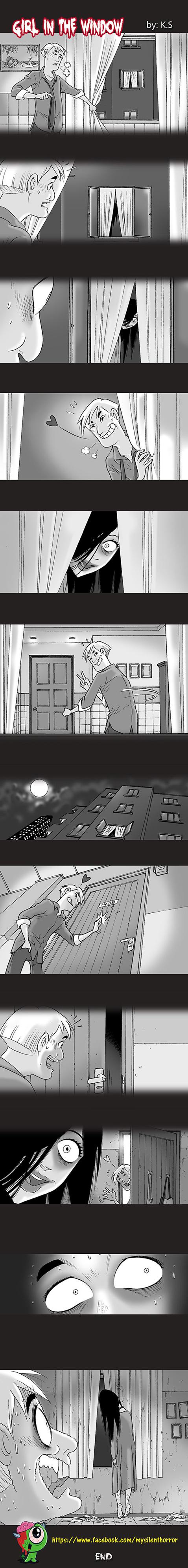 Silent Horror chap 16: Cô gái sau cửa sổ