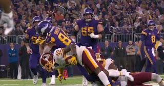 Red skins vs Vikings week 8 | NFL 2019