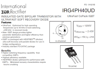 3-Phase inverter with High-speed IGBT ชุดปรับอินเวอร์เตอร์ความเร็วสูงด้วย IGBT
