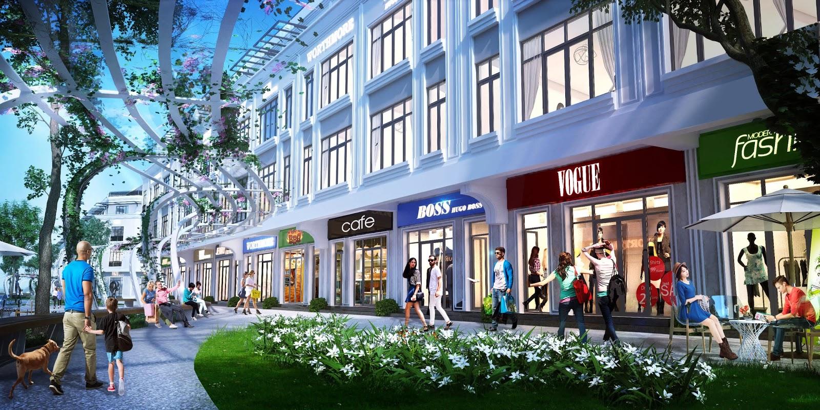 Nhà phố thương mại Kim Long Ocean