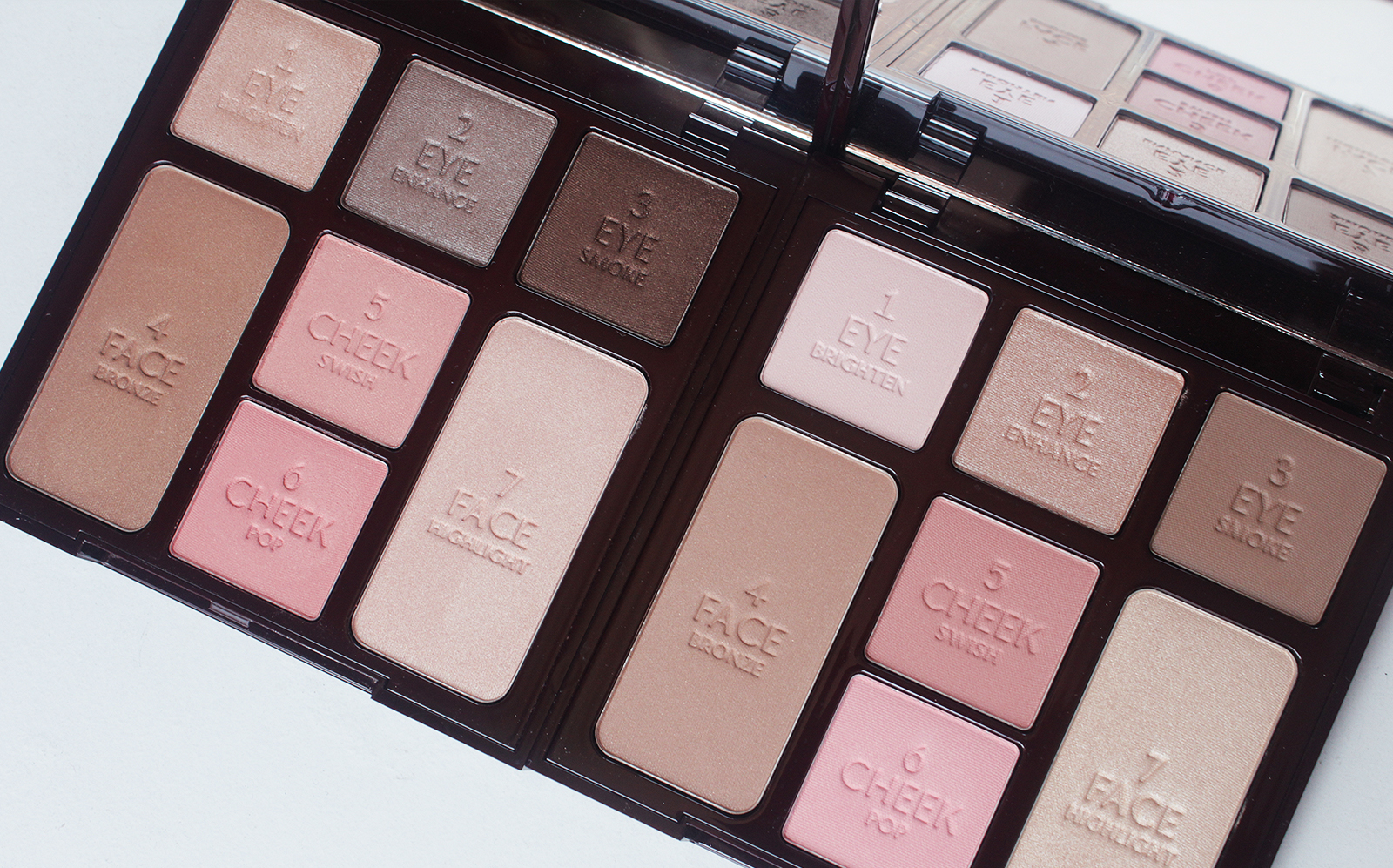 2d7af66f4f9d4 Charlotte Tilbury Instant Look In a Palette  Natural Beauty   Seductive  Beauty