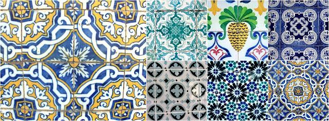 azulejos de Lisbonne le corner d'evangeline