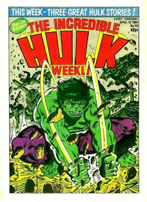 Incredible Hulk Weekly #58