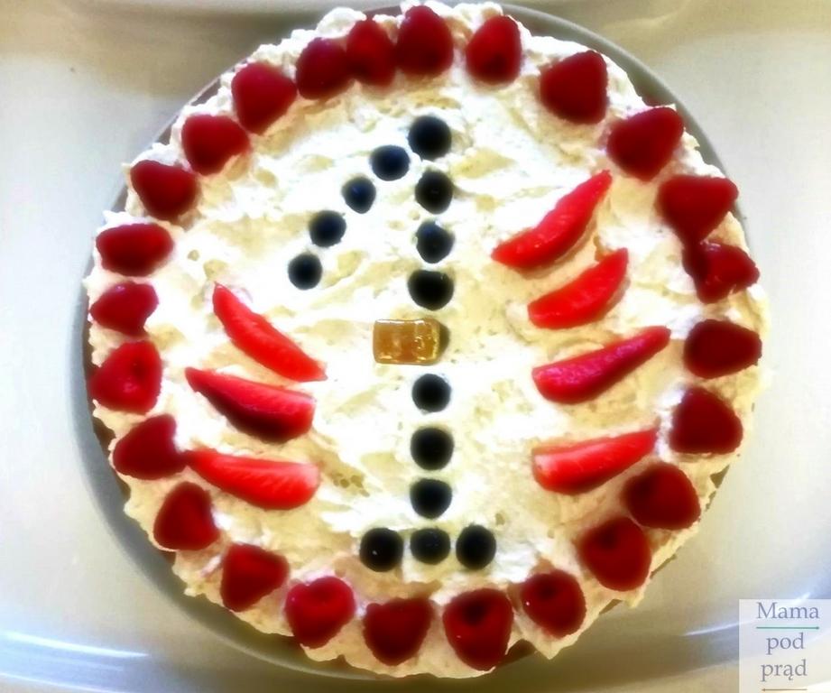 tort urodziny bez cukru