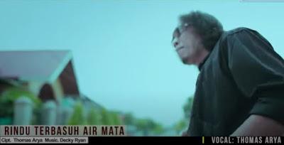 Lirik Lagu Pof Malaysia Thomas Arya - Rindu Terbasuh Air Mata