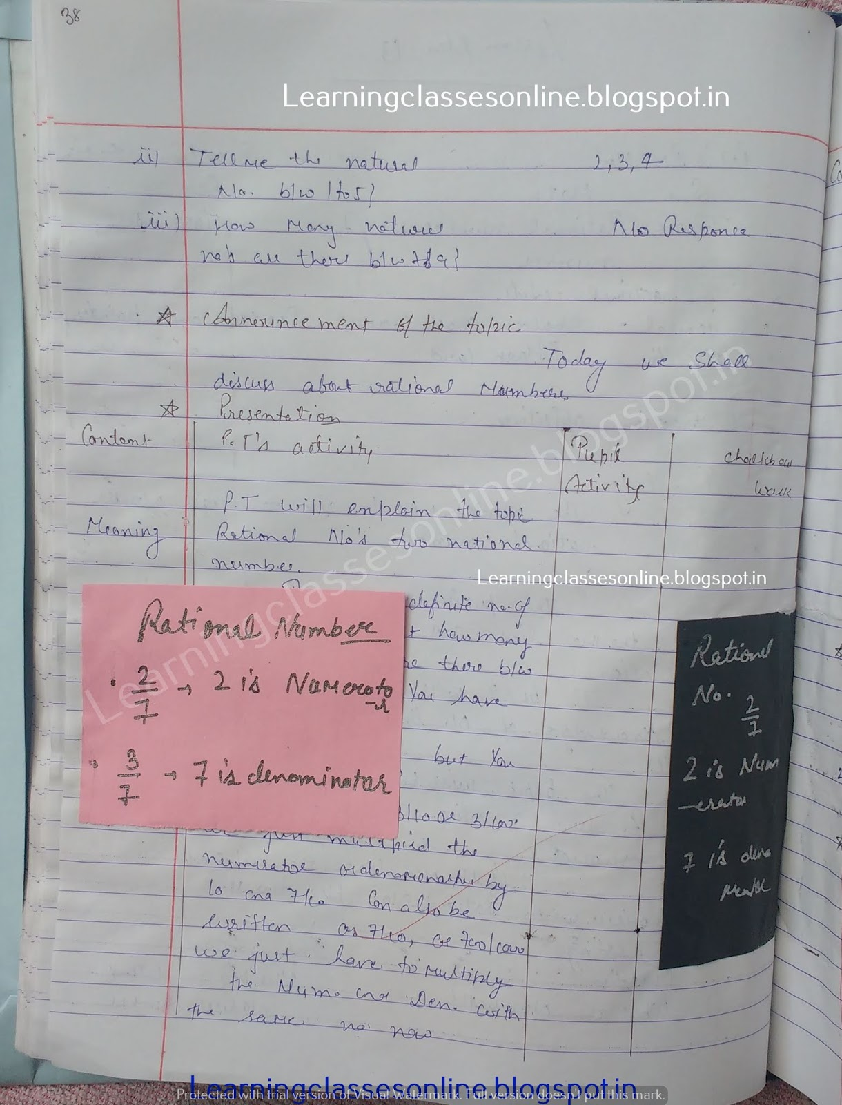 Sample Detailed Lesson Plan In Math Grade 7,